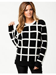 American Retro Check Sweater