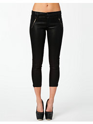 J Brand Carey Jeweled Zip Capri