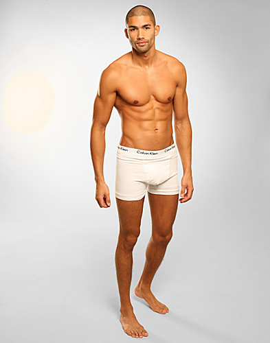 ONDERBROEKEN - CALVIN KLEIN / COTTON STRETCH 3 TRUNKS - NELLY.COM