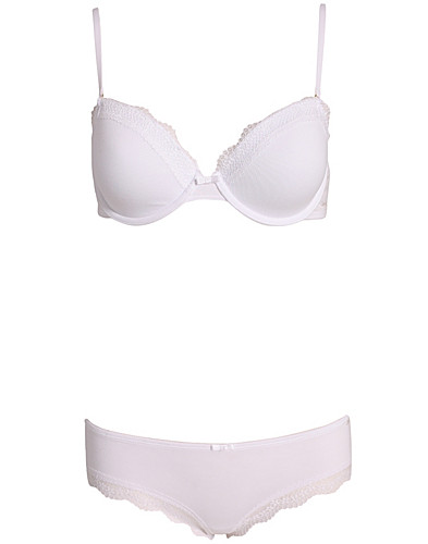 BH'S & TOPS  - CALVIN KLEIN / CKONE S&S T-SHIRT BRA - NELLY.AT