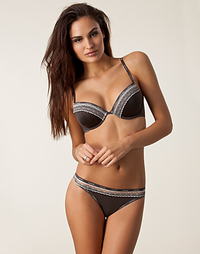 HELA SET - CALVIN KLEIN / SIGNATURE BRA THONG SET - NELLY.COM