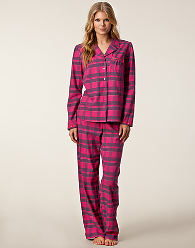 HELA SET - CALVIN KLEIN / FLANNEL PJ SET - NELLY.COM