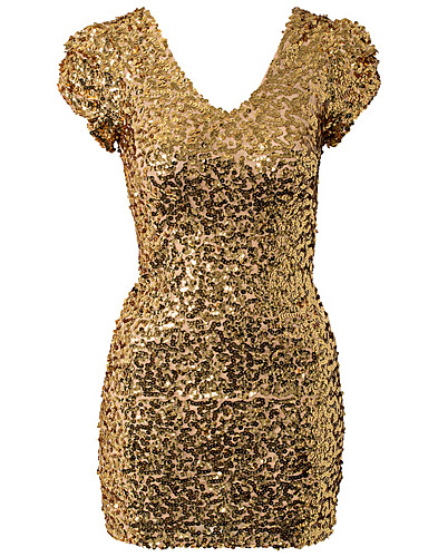 FESTKLÄNNINGAR - ONENESS / JARNA SEQUINS DRESS - NELLY.COM