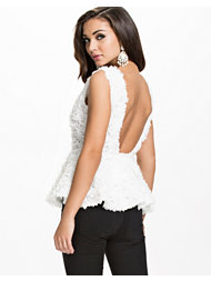 Oneness Flower Low Back Top
