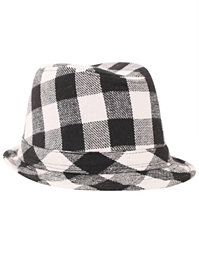 Purple - Checked Hat