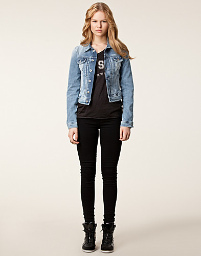 JACKETS AND COATS - PEPE JEANS / MIKAS DENIM JACKET Q25 - NELLY.COM