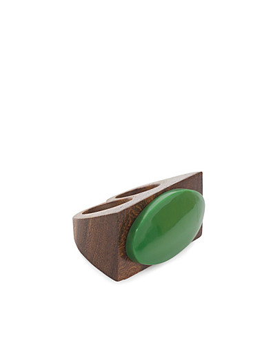 JEWELLERY - FRIIS & COMPANY / HAIDA DUBBLE RING - NELLY.COM