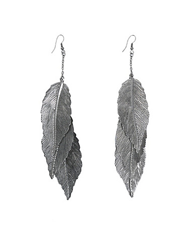 SMYCKEN - FRIIS & COMPANY / FEATHER EARRING - NELLY.COM