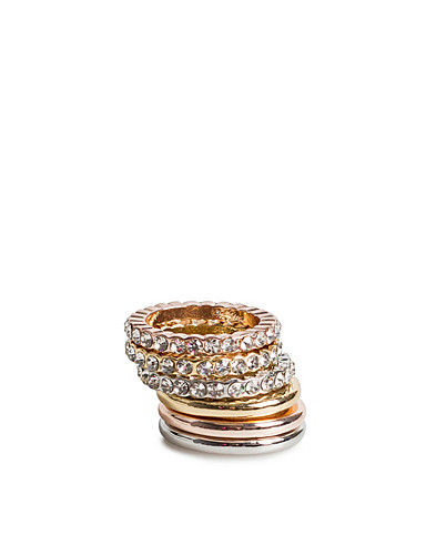 JEWELLERY - FRIIS & COMPANY / NAAS RING SET - NELLY.COM