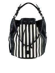 Friis & Company Stripy Vitex Bucket Bag