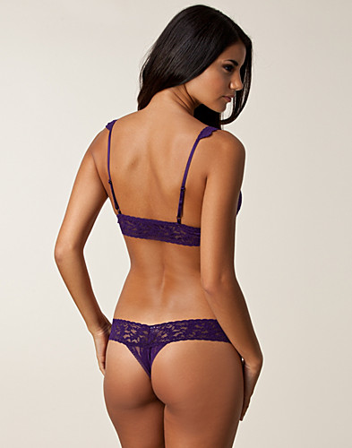 GANZE SETS - HANKY PANKY / BRALET THONG SET - NELLY.DE