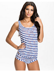 Hanky Panky Sailor Stripe Tank Set