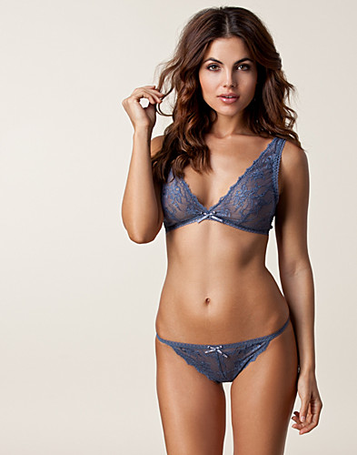 HELA SET - ARMANI / GARDENIA LACE THONG SET - NELLY.COM