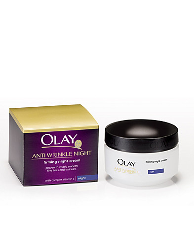 ANSIGTSPLEJE - OLAY / ANTI-WRINKLE NIGHT CREME - NELLY.COM