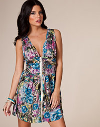 Angeleye - Sleeveless Printed Dress