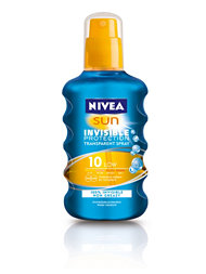 Nivea Invisible Protection Spray Spf 10
