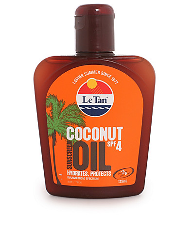 SOLPRODUKTER - LE TAN / COCONUT OIL SPF 4 - NELLY.COM