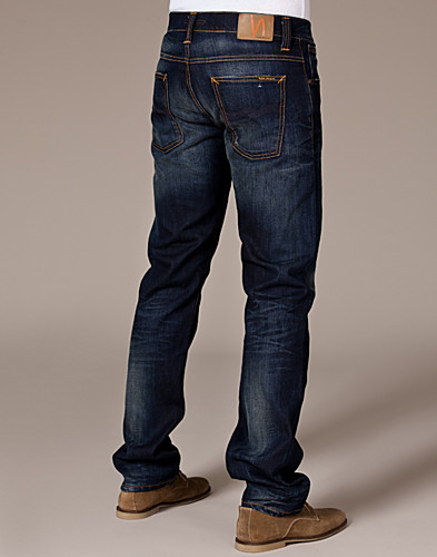 JEANS - NUDIE JEANS / AVERAGE JOE DK ORG. USED - NELLY.COM