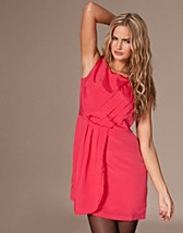LAURA DRAPE DETAIL DRESS