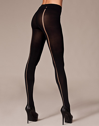 TIGHTS & STAY-UPS - SNEAKY FOX / BACK STITCH PANTYHOSE - NELLY.COM