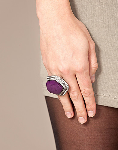 JEWELLERY - FRIIS & COMPANY / GREEN STONE RING - NELLY.COM