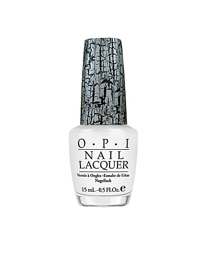 NAIL DESIGN - OPI / WHITE SHATTER - NELLY.COM