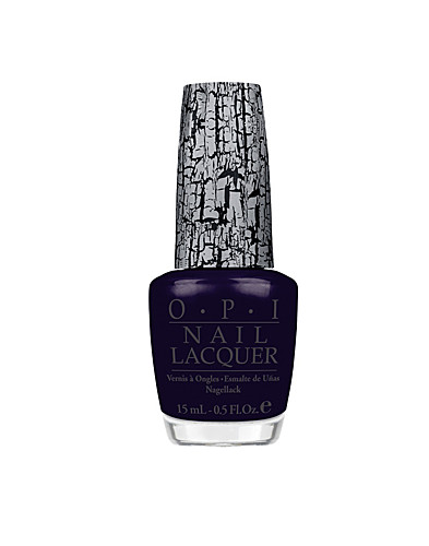 NAIL DESIGN - OPI / NAVY SHATTER - NELLY.COM