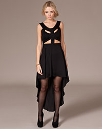 Reverse - Assymetric Cut Out Dress