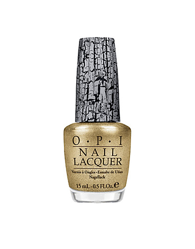 NAIL DESIGN - OPI / GOLD SHATTER - NELLY.COM