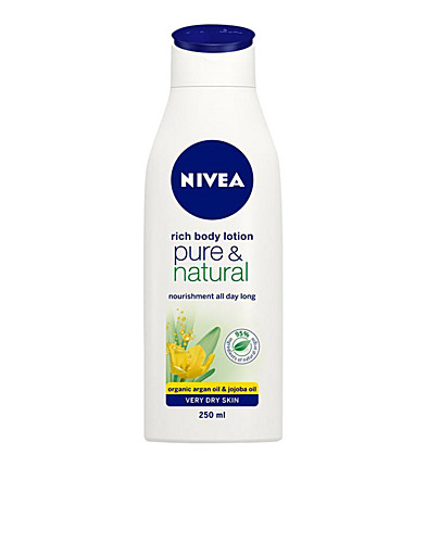 BODY CARE - NIVEA / PURE & NATURAL MILK - NELLY.COM