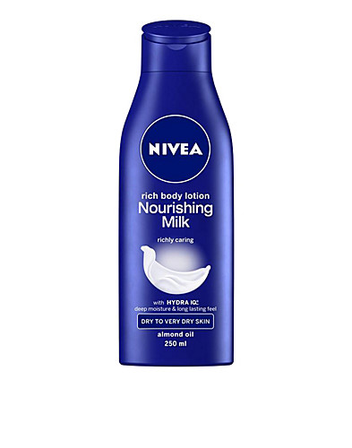 KROPPSVÅRD - NIVEA / NOURISHING BODY MILK - NELLY.COM