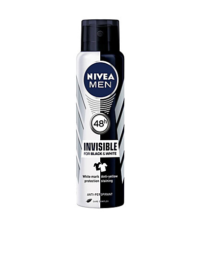 KROPPSVÅRD - NIVEA FOR MEN / BLACK & WHITE SPRAY POWER - NELLY.COM