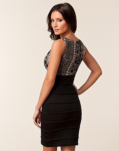 JUHLAMEKOT - AWEAR / LOUISE COWL BANDAGE DRESS - NELLY.COM