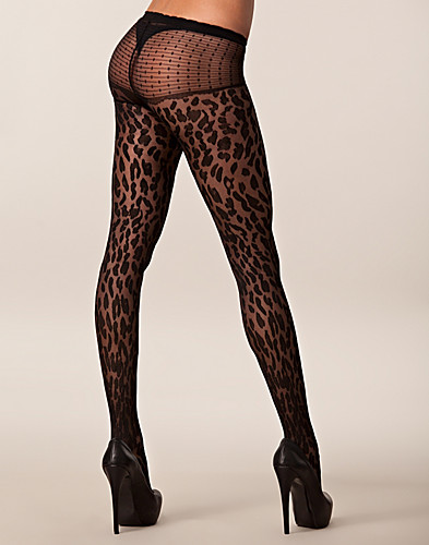 STRØMPEBUKSER & STAY-UPS - SNEAKY FOX / LEO LIGHT PANTYHOSE - NELLY.COM