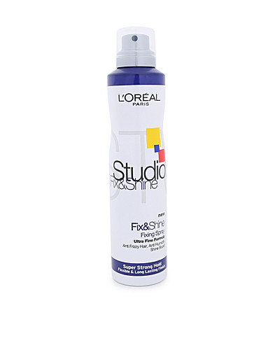 HIUSTENHOITO - STUDIOLINE / FIX & SHINE SPRAY SUPER STRONG - NELLY.COM