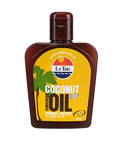 SUN CARE & TANNING - LE TAN / COCONUT OIL 30+ BOTTLE - NELLY.COM