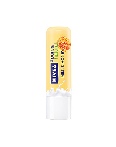 FACIAL CARE - NIVEA / PURE & NATURALE LIP MILK & HONEY - NELLY.COM