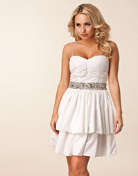 Aura Boutique - Prom Embellished Waist Dress