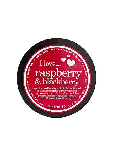 BODY CARE - I LOVE... / RASPBERRY & BLACKBERRY NOURISHING BODY BUTTER - NELLY.COM