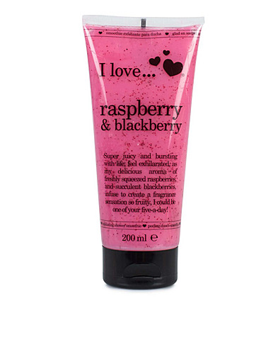 BODY CARE - I LOVE... / RASPBERRY & BLACKBERRY EXFOLIATING SHOWER SMOOTHIE - NELLY.COM