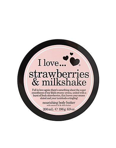 BODY CARE - I LOVE... / STRAWBERRY & MILKSHAKE NOURISHING BODY BUTTER - NELLY.COM