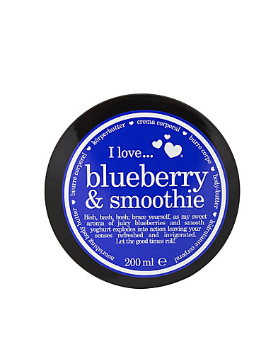 KROPPSVÅRD - I LOVE... / BLUEBERRY & SMOOTHIE NOURISHING BODY BUTTER - NELLY.COM