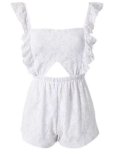 JUMPSUIT - REVERSE / LACE PLAYSUIT - NELLY.COM
