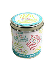 Pluto Scented Candle Happy Birthday Large