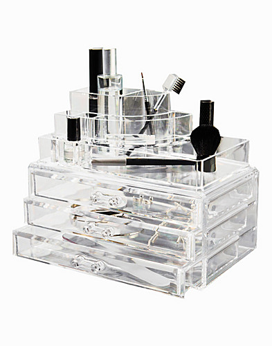TARVIKKEET & ASUSTEET - COSMETIC ORGANIZER / BOX WITH 3 DRAWERS - NELLY.COM
