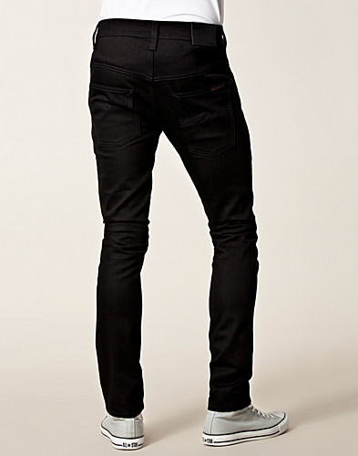 JEANS - NUDIE JEANS / TAPE TED ORG BLACK RING - NELLY.COM