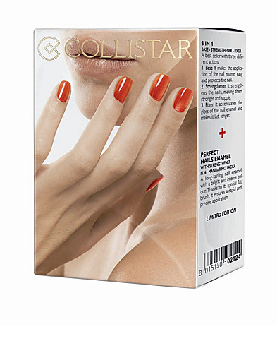 NAIL POLISH - COLLISTAR / PERFECT NAILS ENAMEL KIT - NELLY.COM