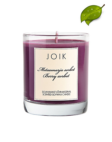 BEAUTY @ HOME - JOIK / BERRY SORBET SOYWAX CANDLE - NELLY.COM