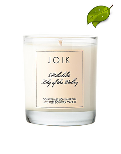 BEAUTY @ HOME - JOIK / LILY OF THE VALLEY SOYWAX CANDLE - NELLY.COM