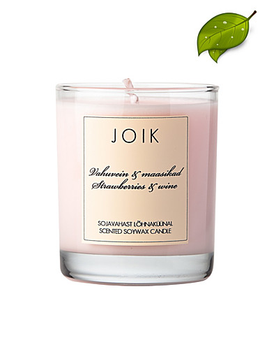 BEAUTY @ HOME - JOIK / STRAWBERRIES & WINE SOYWAX CANDLE - NELLY.COM